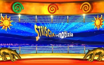 TV ON AIR Striscia la notizia | Canale5 | Clonwerk